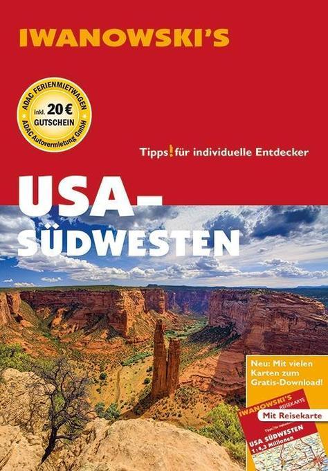 USA-Südwesten - Reiseführer von Iwanowski als Buch