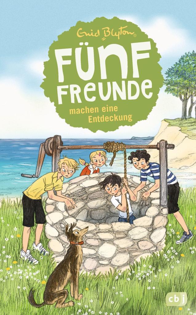 Fünf Freunde machen eine Entdeckung als Buch von Enid Blyton