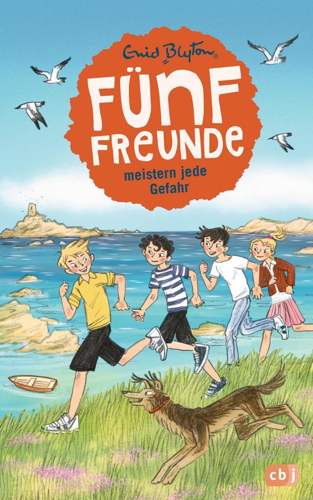 Fünf Freunde meistern jede Gefahr als Buch von Enid Blyton
