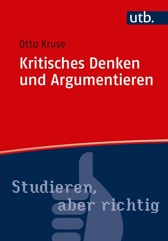 Kritisches Denken und Argumentieren als Taschenbuch