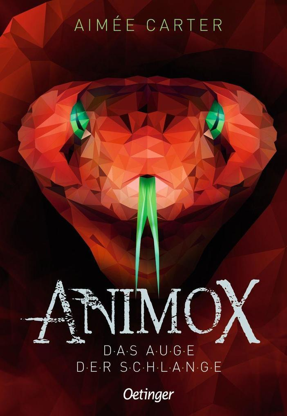 Animox 02. Das Auge der Schlange als Buch