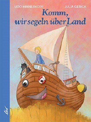 Komm, wir segeln über Land als Buch