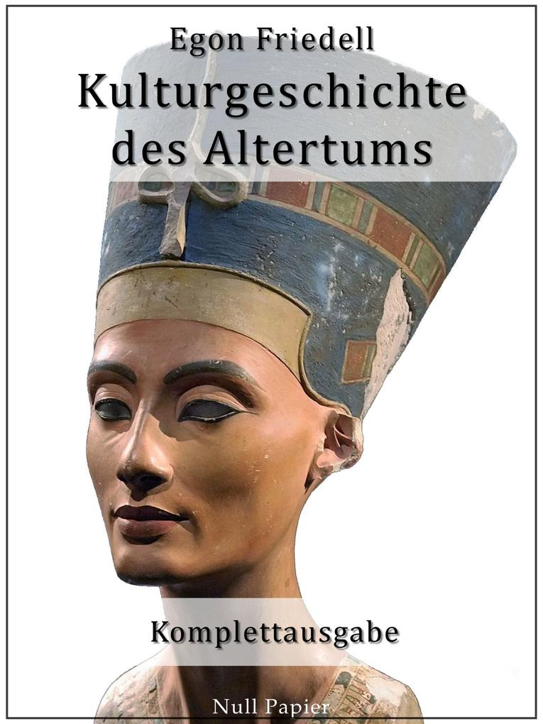 Kulturgeschichte des Altertums als eBook