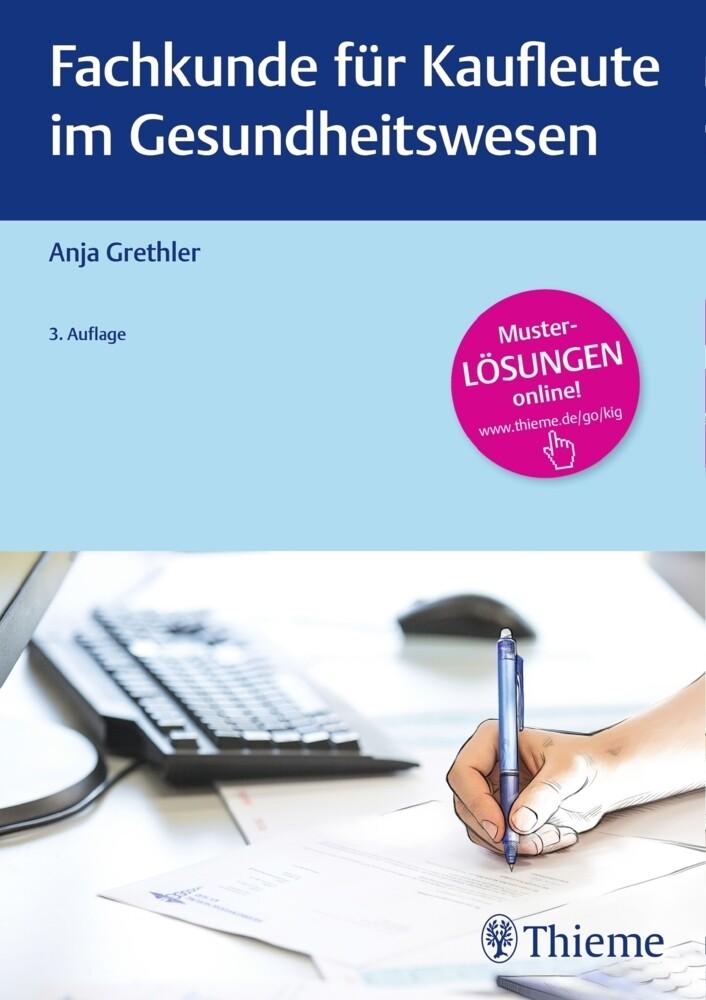 Fachkunde für Kaufleute im Gesundheitswesen als Buch