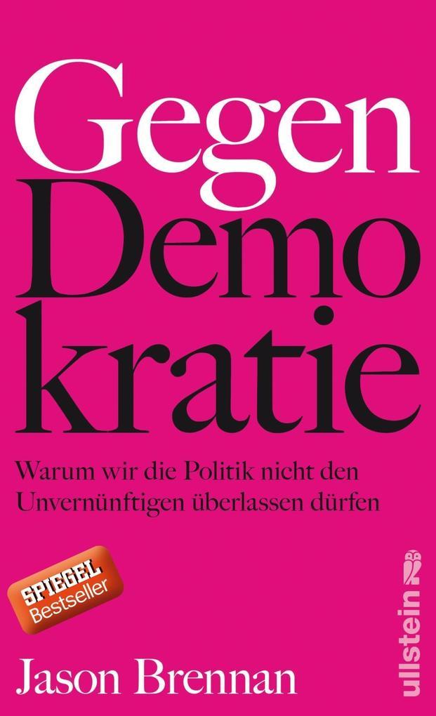 Gegen Demokratie als Buch