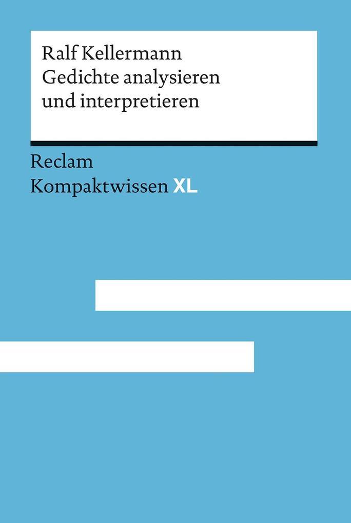 Gedichte analysieren und interpretieren als Taschenbuch