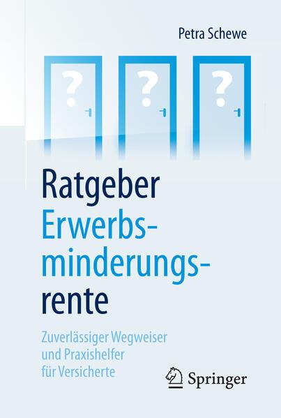 Ratgeber Erwerbsminderungsrente als Buch von Petra Schewe