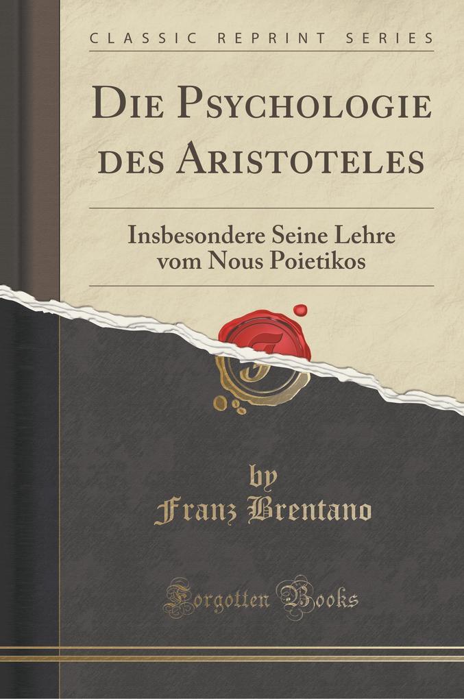 Die Psychologie des Aristoteles