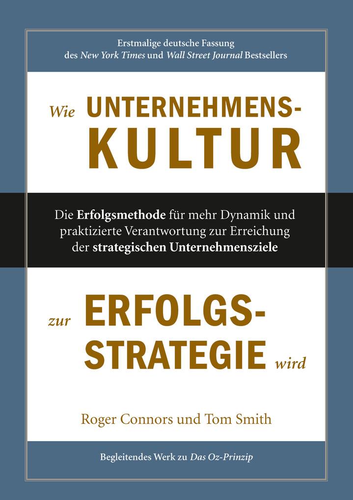 Wie Unternehmenskultur zur Erfolgsstrategie wird als eBook