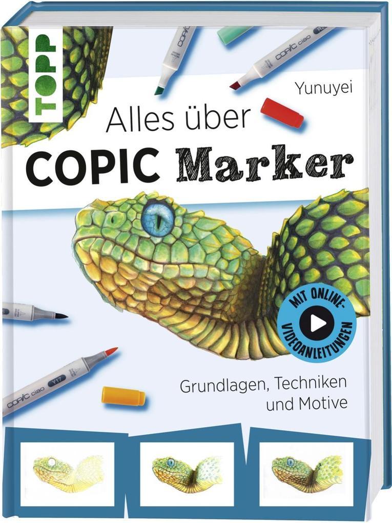 Alles über COPIC Marker als Buch