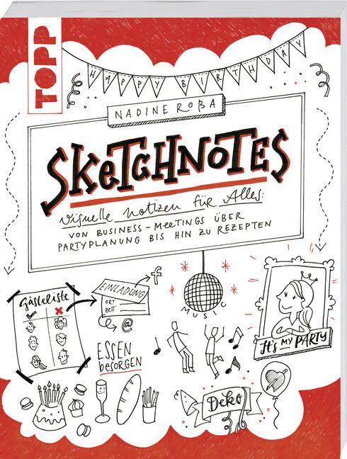 Sketchnotes als Buch (kartoniert)