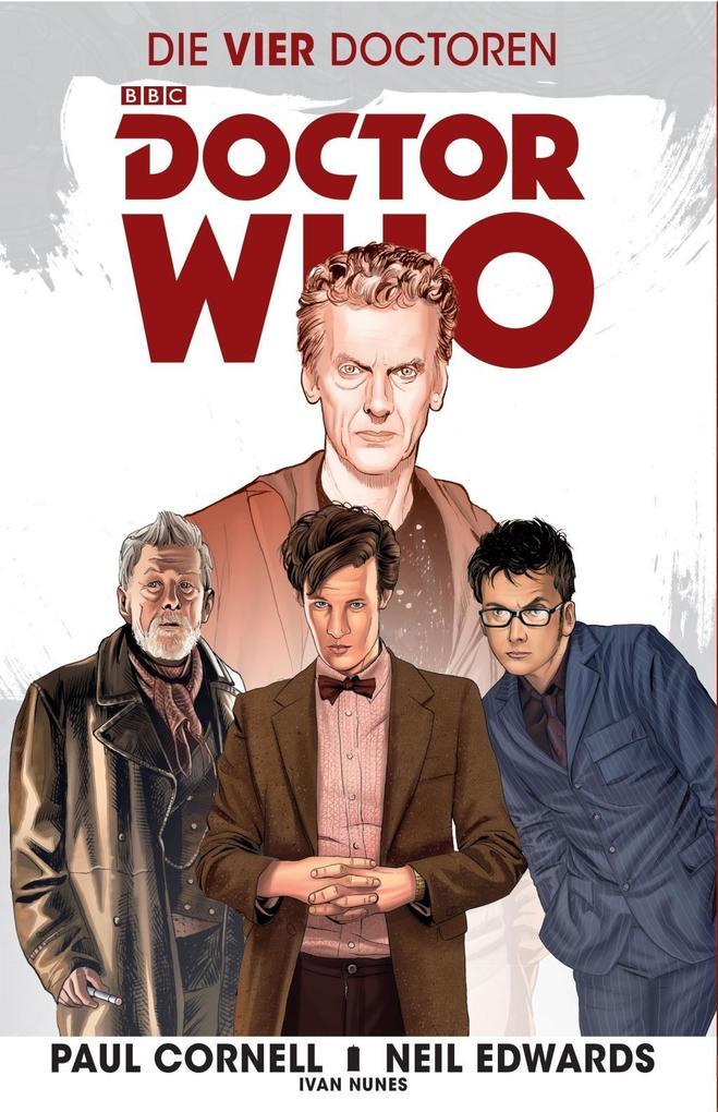 Doctor Who: Die vier Doctoren als Taschenbuch