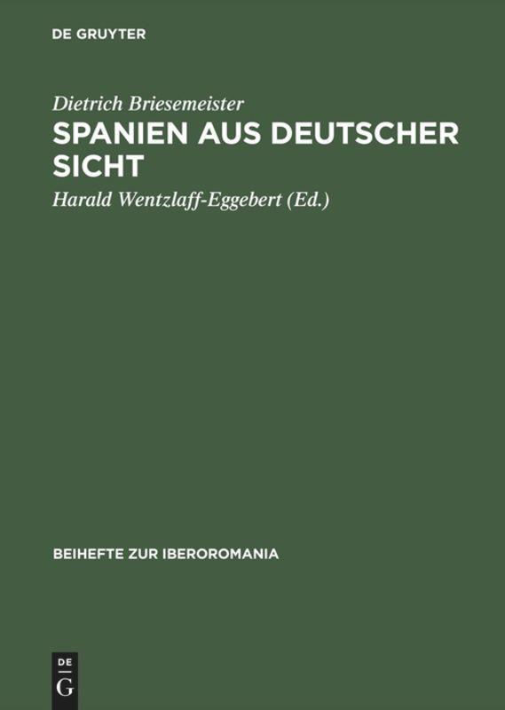Spanien aus deutscher Sicht als Buch
