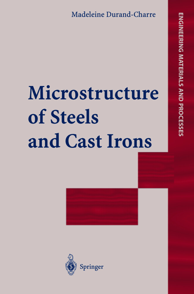 Microstructure of Steels and Cast Irons als Buch