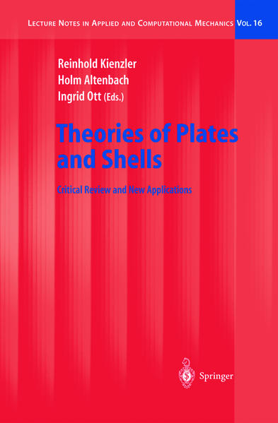 Theories of Plates and Shells als Buch