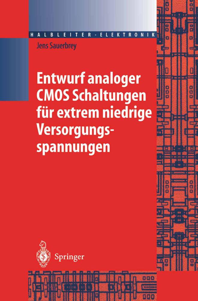 Entwurf analoger CMOS Schaltungen für extrem niedrige Versorgungsspannungen als Buch