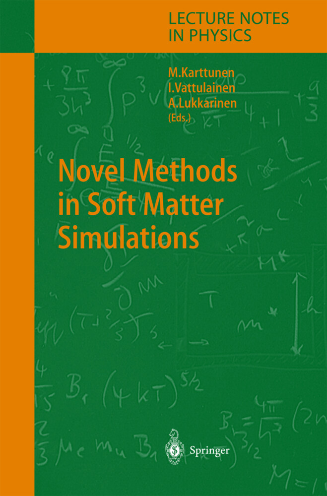 Novel Methods in Soft Matter Simulations als Buch