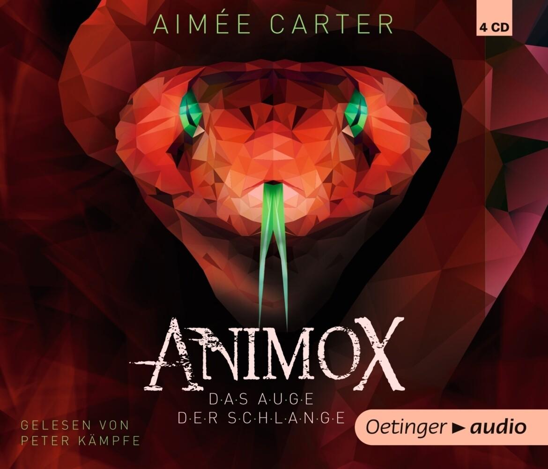 Animox 02. Das Auge der Schlange (4 CD) als Hörbuch