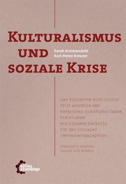 Kulturalismus und soziale Krise als Taschenbuch...