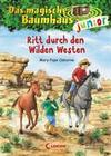 Das magische Baumhaus junior 10 - Ritt durch den Wilden Westen
