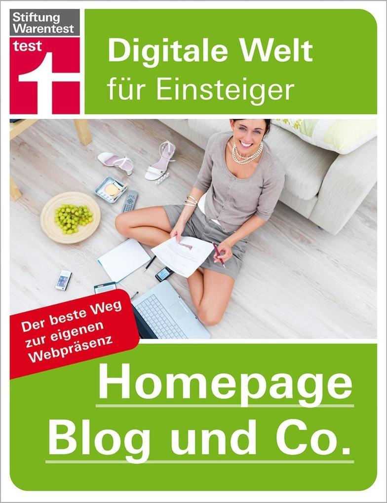 Homepage, Blog und Co. als Buch von Patrick Lob...
