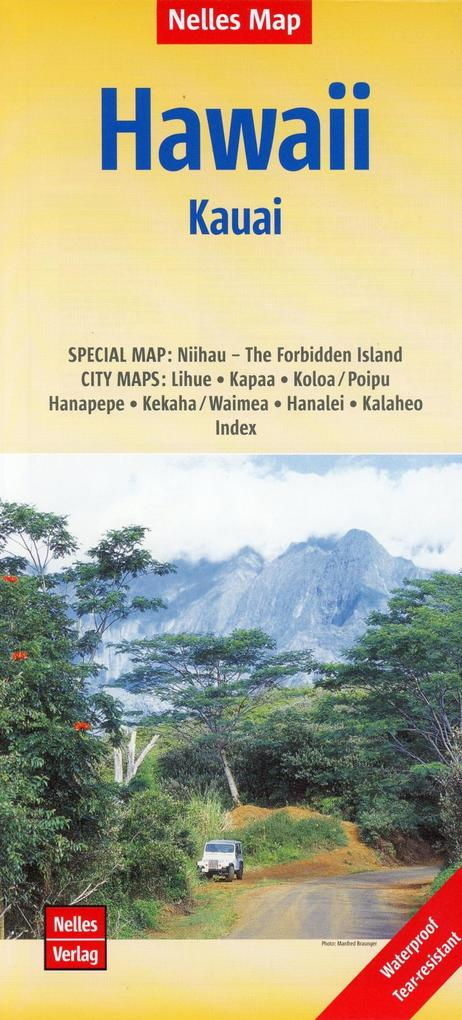 Nelles Map Hawaii: Kauai 1:150 000