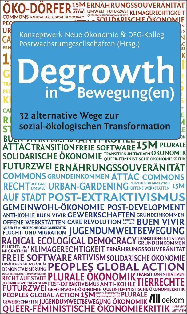 Degrowth in Bewegung(en) als Buch von