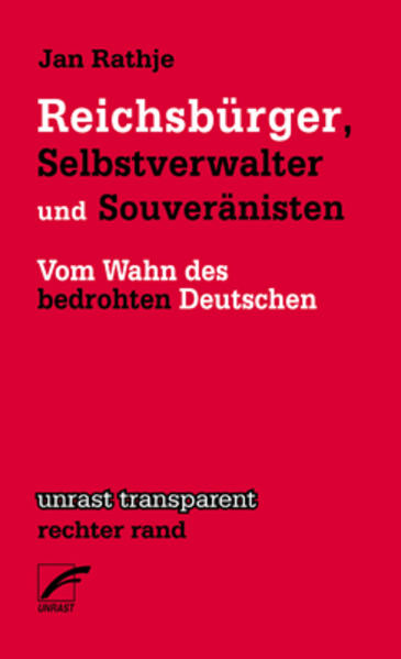 Reichsbürger, Selbstverwalter und Souveränisten...