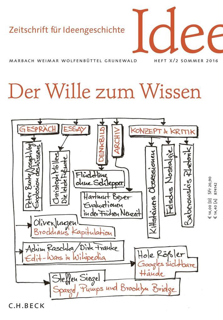 Zeitschrift für Ideengeschichte Heft X/2 Sommer 2016 als eBook
