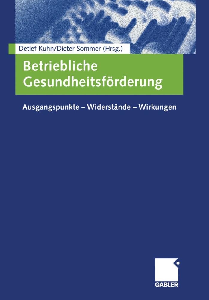 Betriebliche Gesundheitsförderung als Buch (kartoniert)