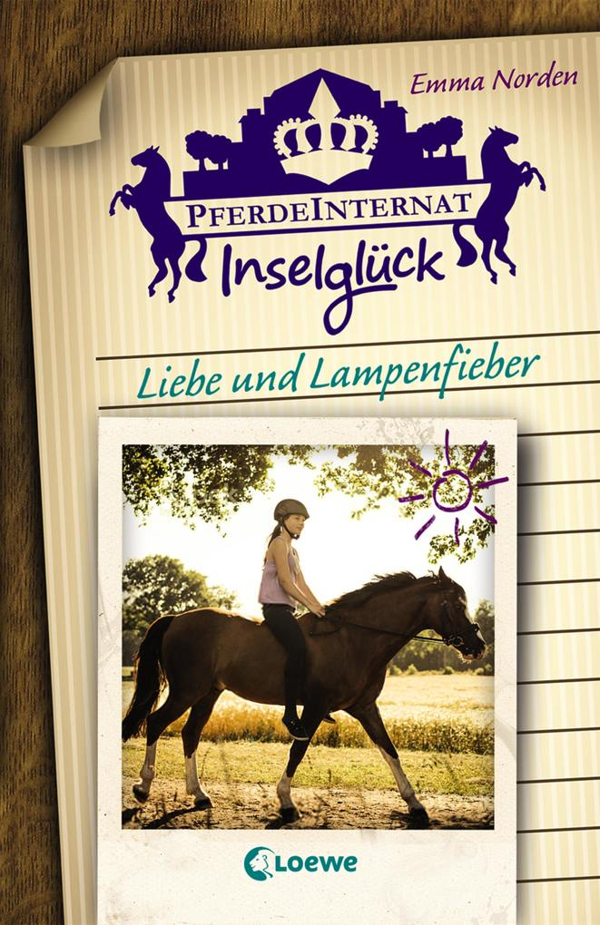 Pferdeinternat Inselglück - Liebe und Lampenfieber als eBook epub