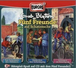Fünf Freunde Box 03. Folgen 32, 33, 36. 3 CDs als CD