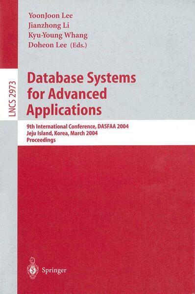 Database Systems for Advances Applications als Buch (kartoniert)