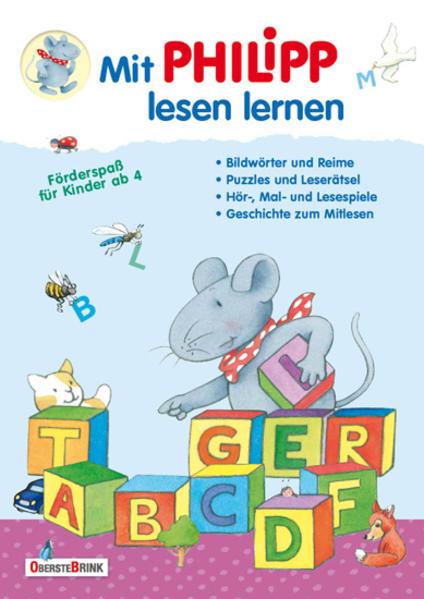Mit Philipp lesen lernen als Buch