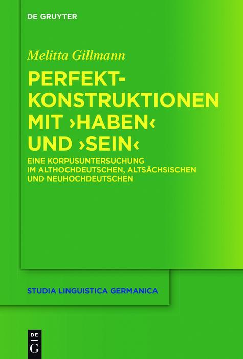 Perfektkonstruktionen mit >haben< und >sein< als eBook