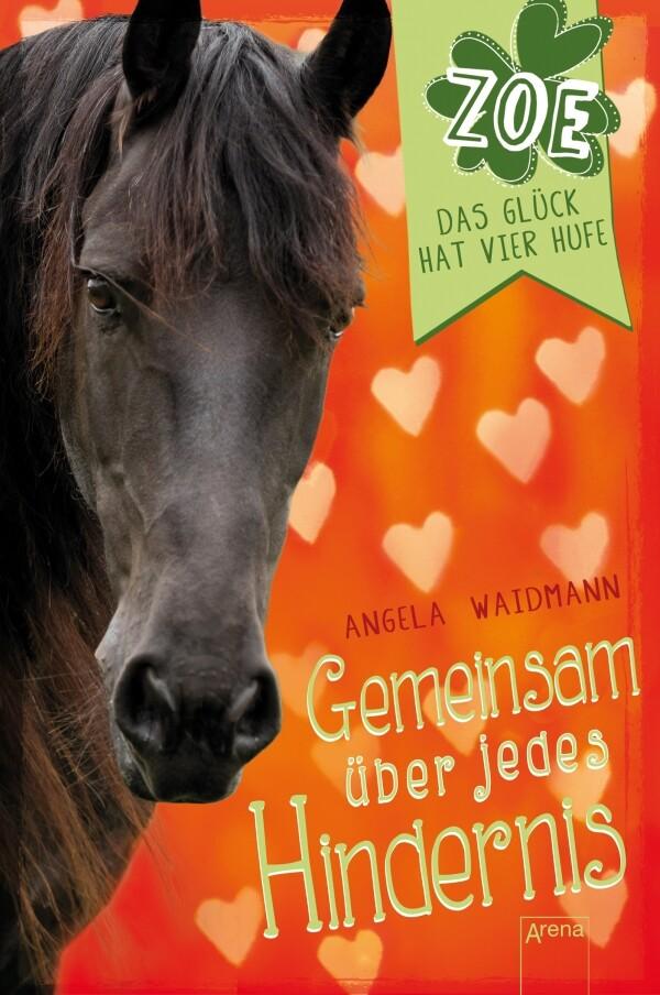Gemeinsam über jedes Hindernis. Zoe. Das Glück hat vier Hufe (4) als Buch von Angela Waidmann