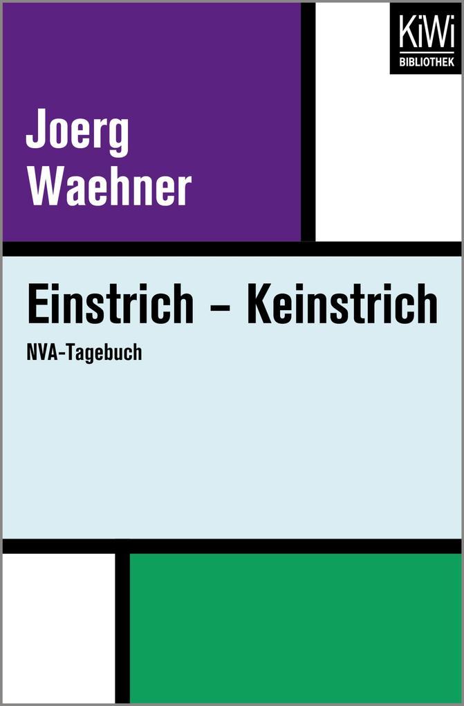 Einstrich - Keinstrich als eBook