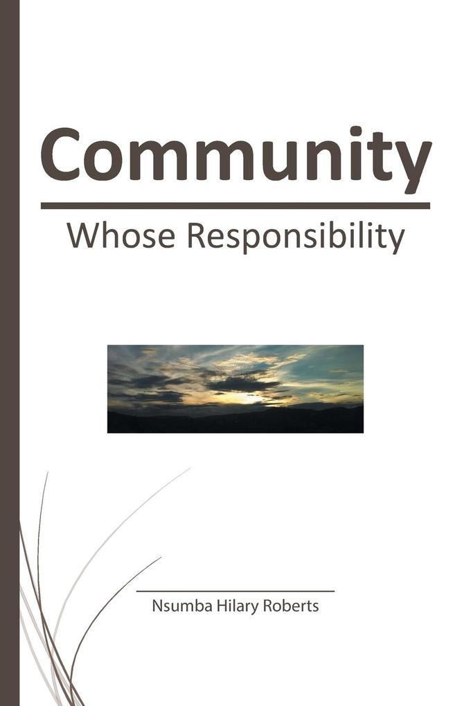 Community als Taschenbuch von Nsumba Hilary Rob...