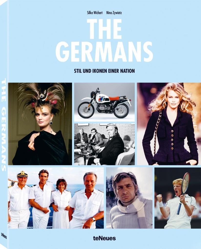 The Germans als Buch von Nina Zywietz, Silke Wichert
