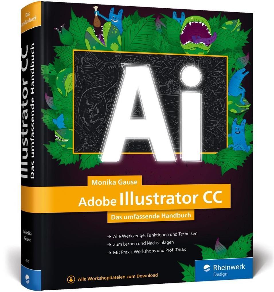 Adobe Illustrator CC als Buch