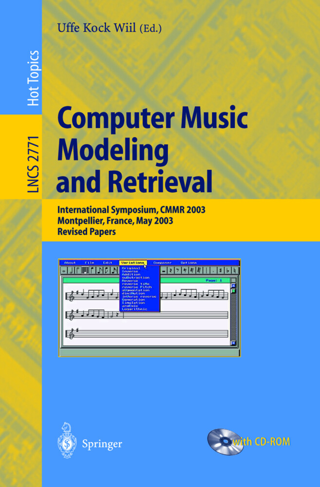 Computer Music Modeling and Retrieval als Buch