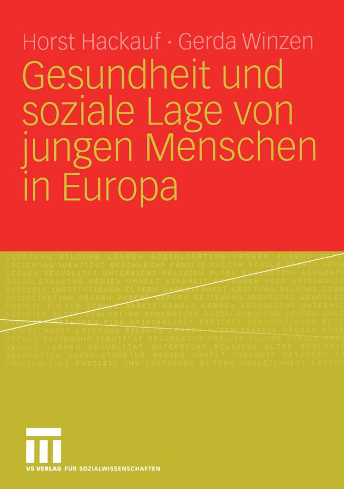 Gesundheit und soziale Lage von jungen Menschen in Europa als Buch