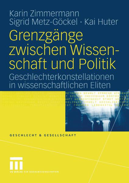 Grenzgänge zwischen Wissenschaft und Politik als Buch