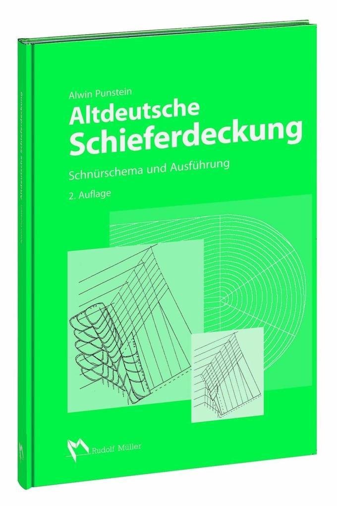 Altdeutsche Schieferdeckung als Buch von Alwin Punstein