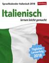Sprachkalender Italienisch - Kalender 2018