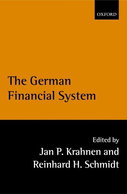 The German Financial System als Buch