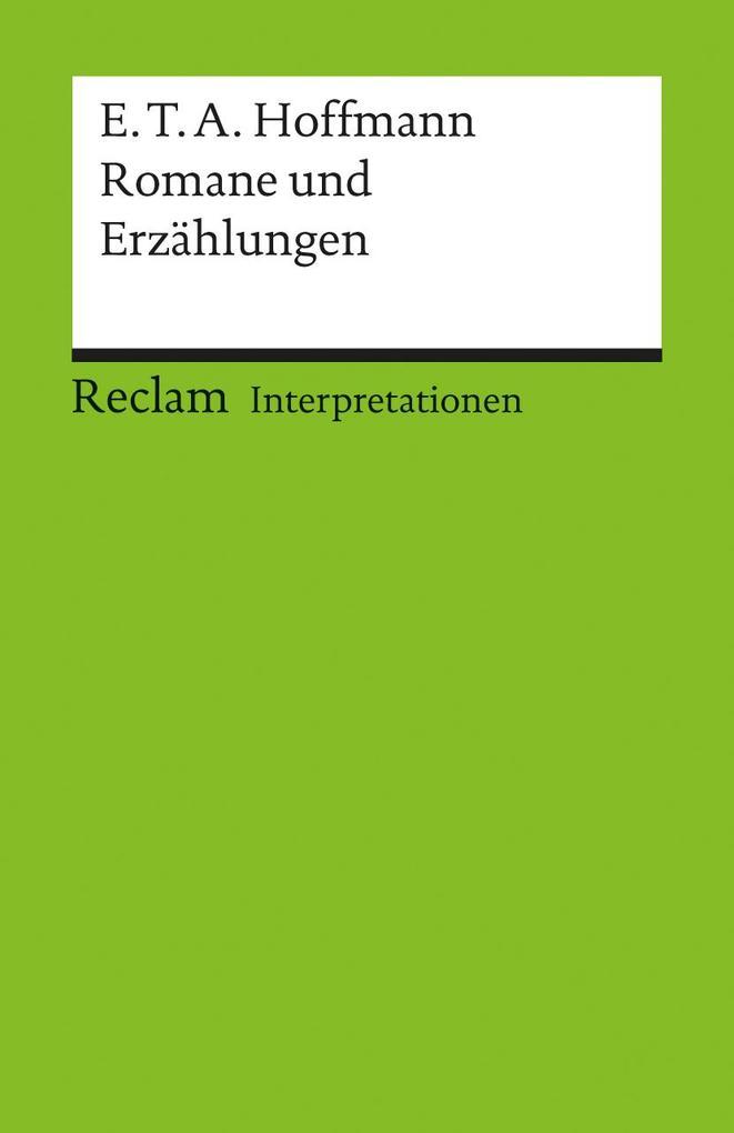 Romane und Erzählungen. Interpretationen als Taschenbuch