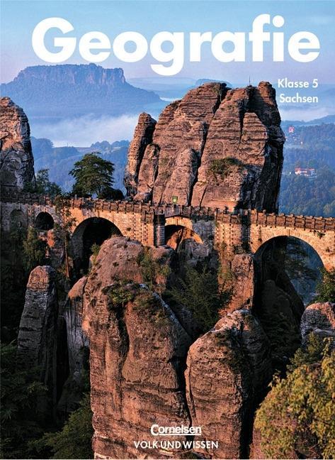 Geografie 5. Schulbuch. Mittelschule. Sachsen. Neubearbeitung als Buch