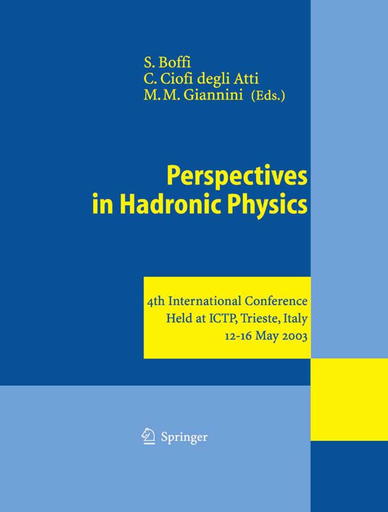 Perspectives in Hadronic Physics als Buch (gebunden)