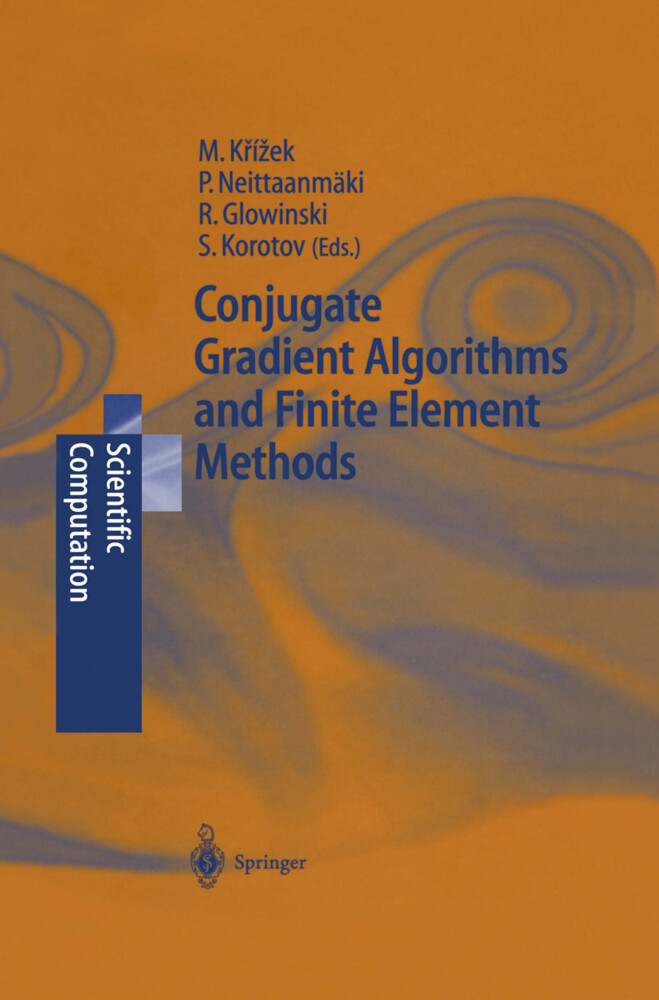 Conjugate Gradient Algorithms and Finite Element Methods als Buch (gebunden)